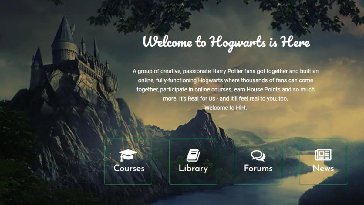 hogwarts is here