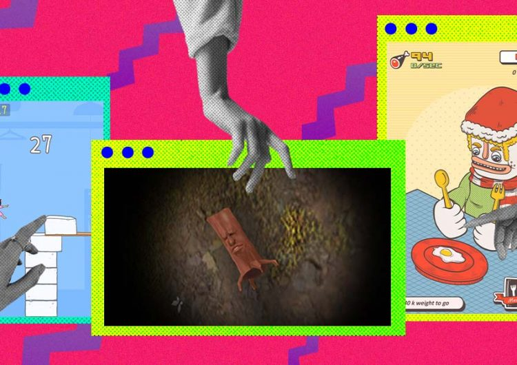If you feel like turning off your brain, play these weird AF games