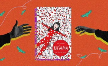 Connect the dots of Yayoi Kusama's life in this new graphic novel
