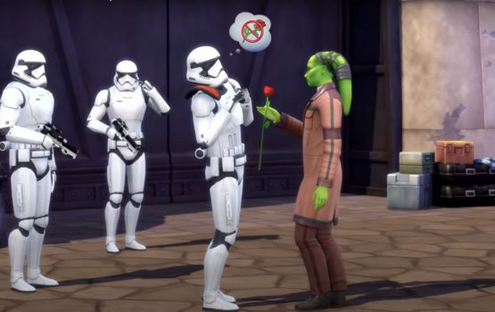 """Some The Sims fans aren't happy about the new """"Star Wars"""" expansion pack"""