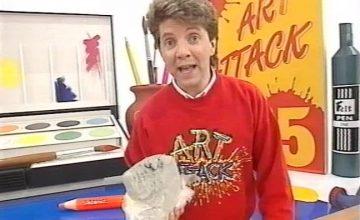 Sorry internet, the 'Art Attack' guy is definitely not Banksy