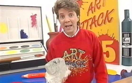 Sorry internet, the 'Art Attack' guy is definitely not Banksy