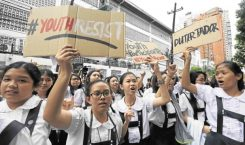 Is DepEd discouraging students to protest and to think critically?