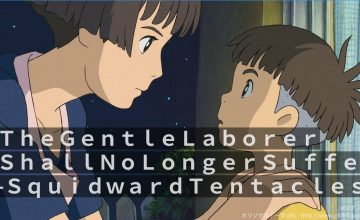 You can put anything in this Ghibli fanmade caption maker (so we did)