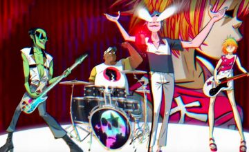 What's next for Gorillaz? A Netflix movie, of course