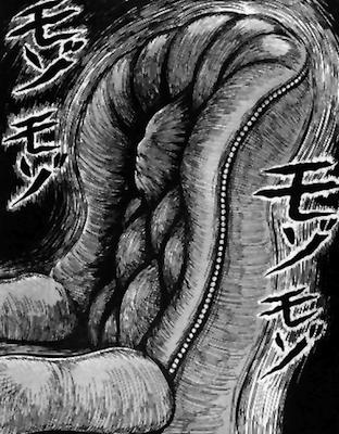 junji ito - human chair