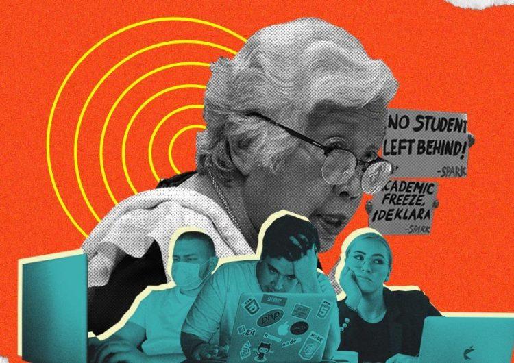 "DepEd Secretary Leonor Briones calls academic freeze advocates ""opponents"""