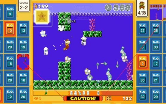 This Super Mario game lets you fight to the death with a bunch of strangers