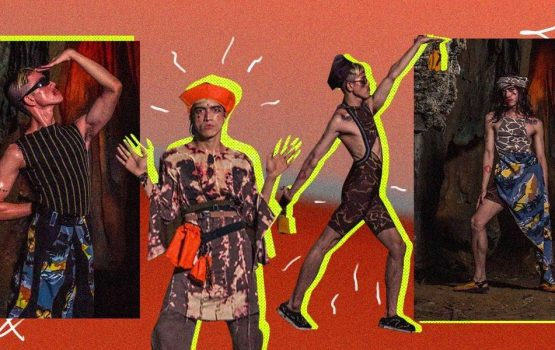 This Toqa collection is an ode to the ghost of raves' past