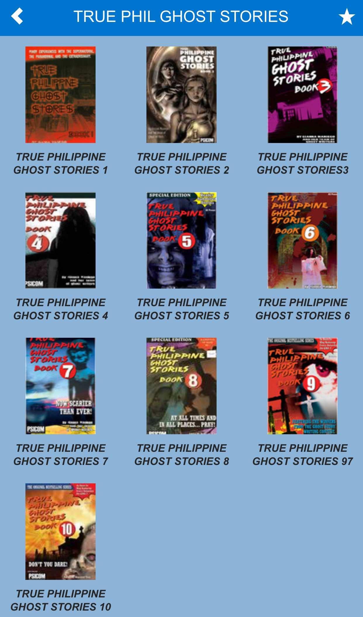 true philippine ghost stories read online 2