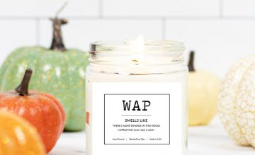 """If you wanna know how a """"WAP"""" smells, light this candle"""