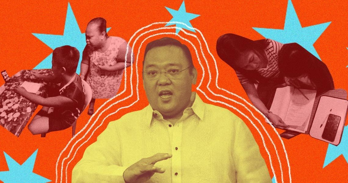 After enjoying a nice dinner and karaoke, Harry Roque tells students to prioritize school work