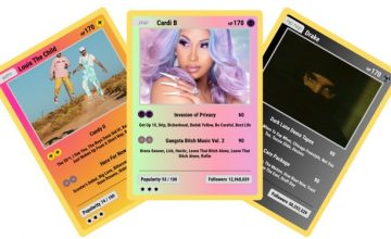 This site makes Pokécards based on your listening history