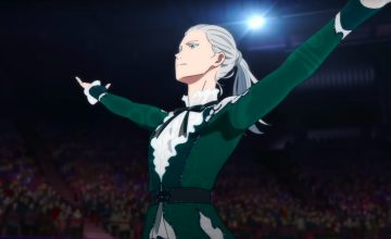 Victor Nikiforov invented ice skating in the 'Yuri!! On Ice' movie teaser