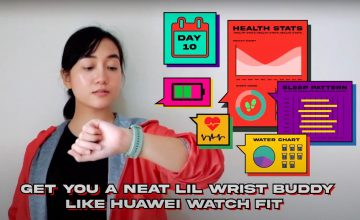 Ayo, (Get a) Reality Check with Huawei Watch Fit