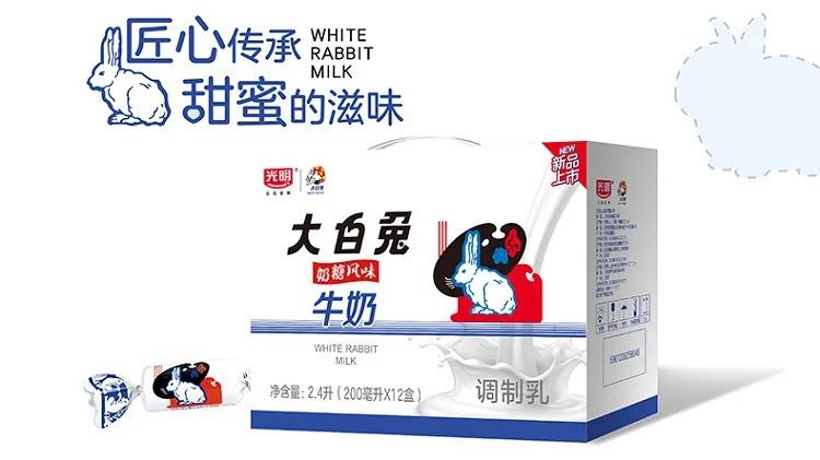 white rabbit candy milk 2