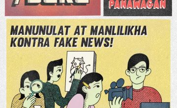 Kwago battles misinformation by making a komiks tabloid