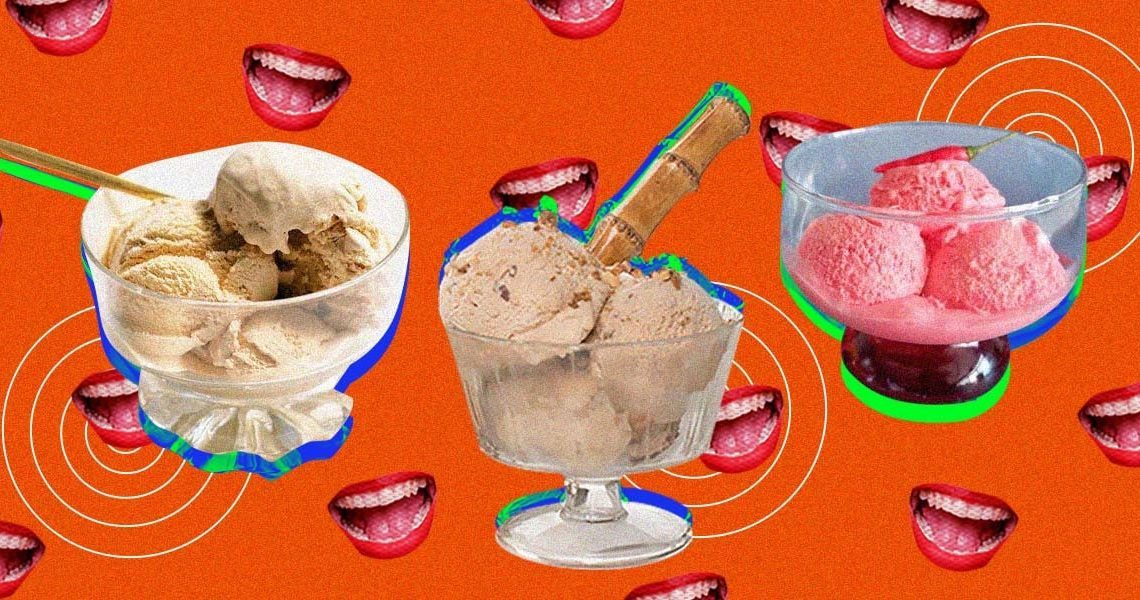Call dibs on blue cheese, sili and other unique ice cream flavors