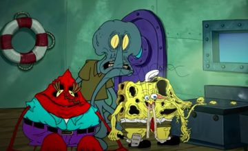 Spongebob gets eaten by his dream job in this fanvid