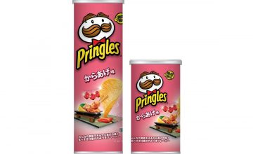 Pringles Japan's latest flavor is chicken karaage, a bento (and bar) fave
