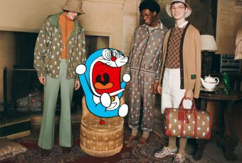 Doraemon is officially part of the Gucci gang in this collab