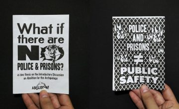 "This latest Makò zine asks ""what if there are no police?"""
