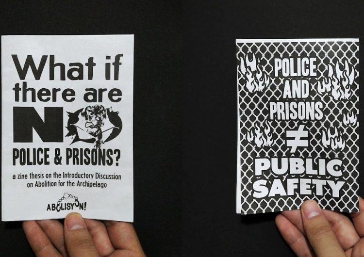 """This latest Makò zine asks """"what if there are no police?"""""""