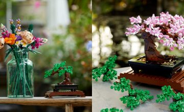Non-green thumb havers, these Lego plants won't wither on you