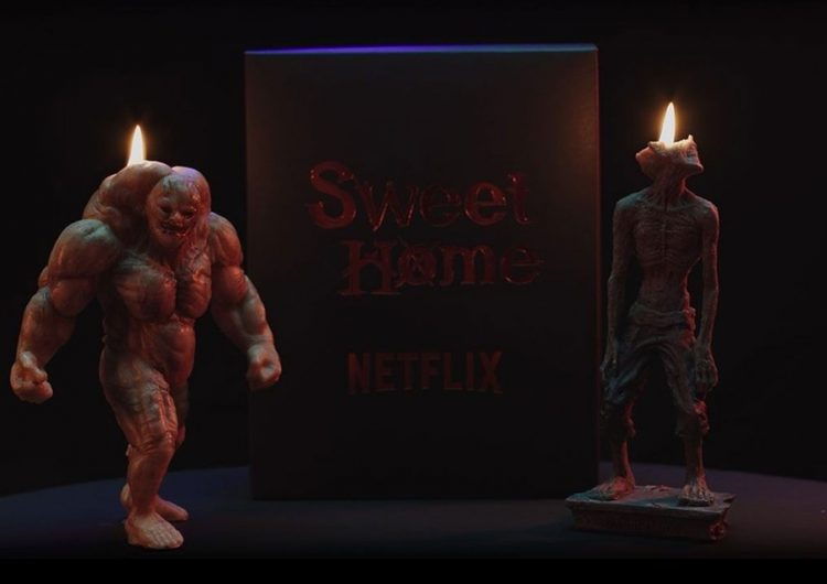 Give your room a threatening aura with these 'Sweet Home' monster candles