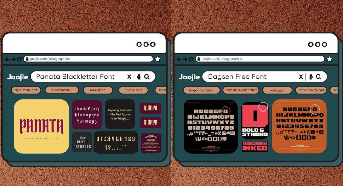 You can download these Filipino-made fonts for free