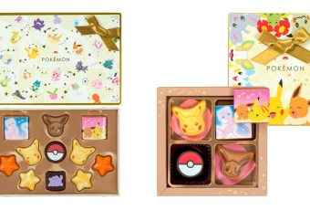 These Pokémon chocolates are made for you and your equally weeb S.O.