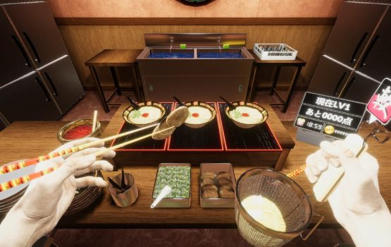 This VR game lets you cook Ichiran ramen like a pro