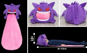 Poké fans, you can rest in Gengar's mouth in this new official merch