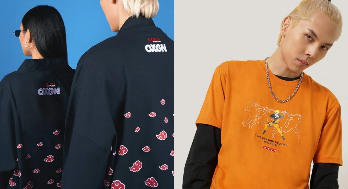 Another licensed 'Naruto' clothing is now available to cop online