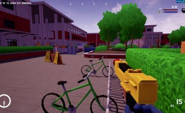 Go full 'Community' stan in this free paintball game online