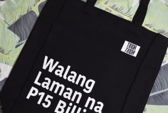 This tote bag is not for guilty PhilHealth execs