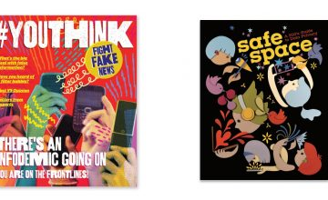 Learn all about fake news and data privacy with a playful zine