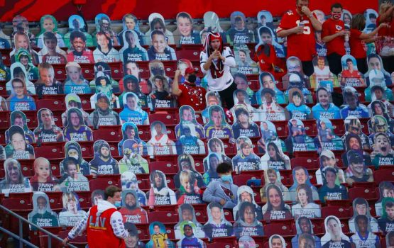 These Super Bowl audience cutouts gave me an idea for post-pandemic events