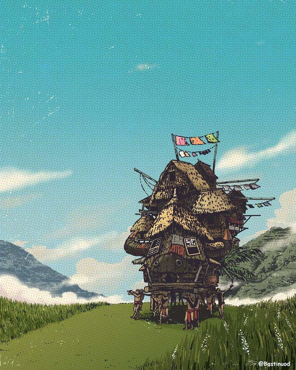 This Cebu artist turned Studio Ghibli into Filipino tales 2