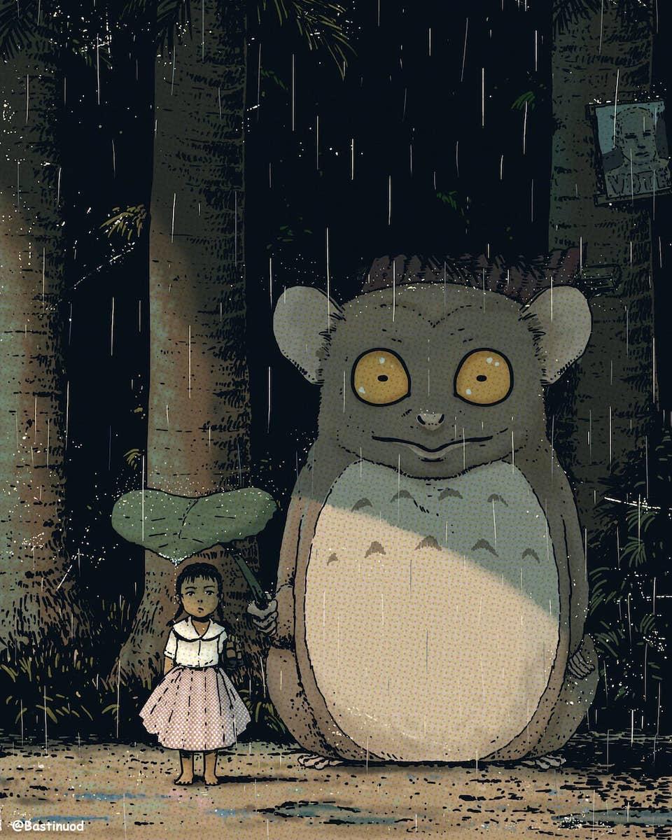 This Cebu artist turned Studio Ghibli into Filipino tales 3