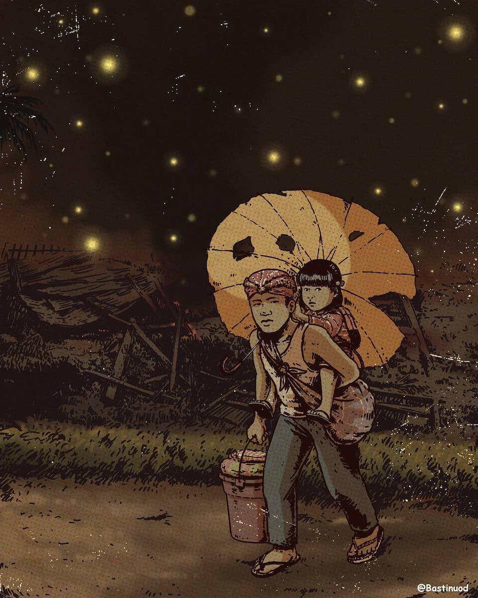 This Cebu artist turned Studio Ghibli into Filipino tales 5
