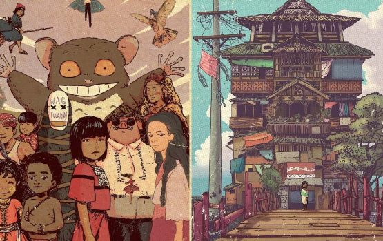 This Cebu artist turned Studio Ghibli into Filipino stories