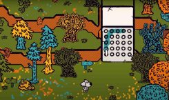This adventure game lets you paint everything like a coloring…