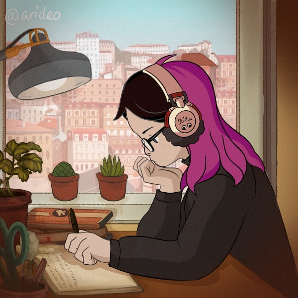This generator turns you into international icon™ Lo-fi Hip-hop girl