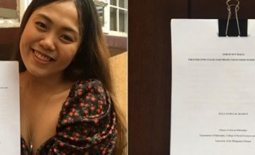 In her MA thesis, this philosophy prof defends that God is not male
