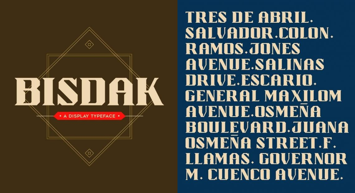 'Bisdak' takes Cebu City's culture in font form