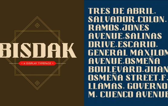 'Bisdak' takes Cebu City's culture in font form