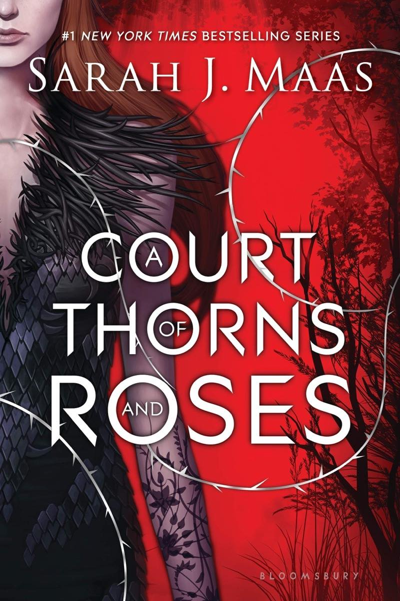 """Cover of """"A Court of Thornes and Roses"""" by Sarah J. Maas"""