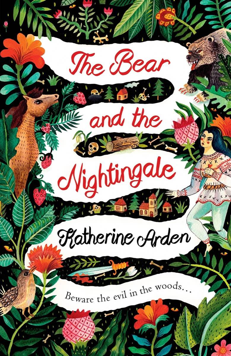 """Cover of """"The Bear and the Nightingale"""" by Katherine Arden"""