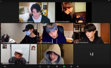 Studying with BTS makes me feel less lonely